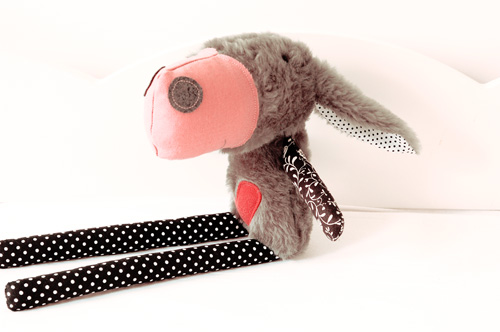 Handmade softie donkey