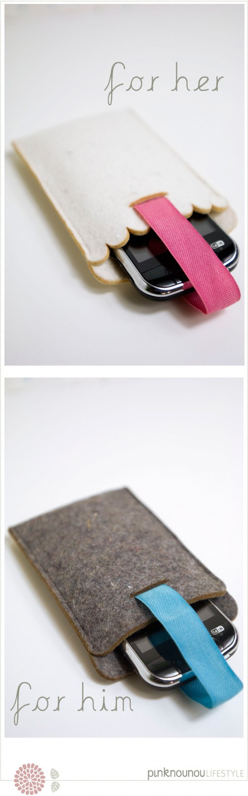 mobile phone sleeves by PinkNounou Lifestyle