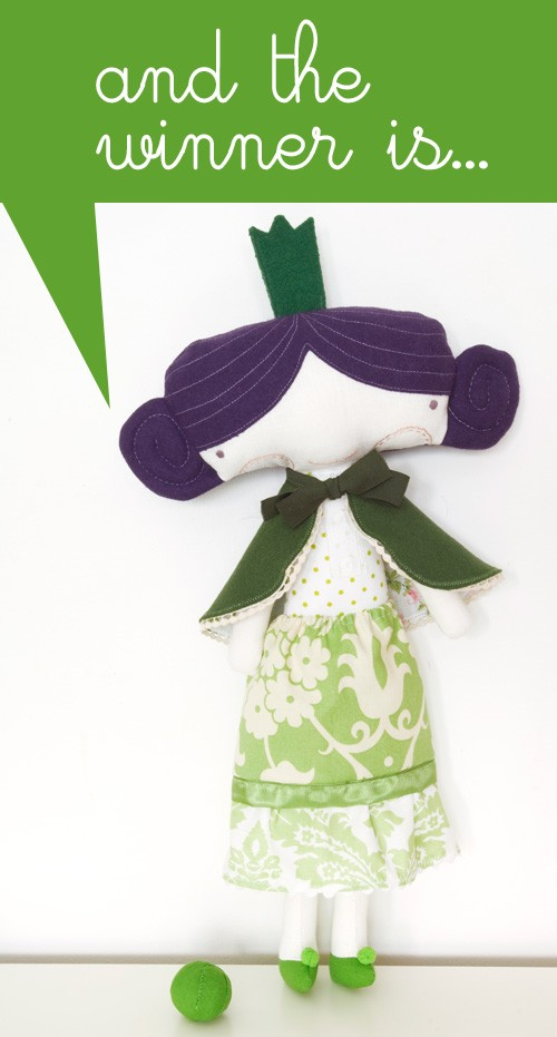 The Princess and the Pea doll set giveaway