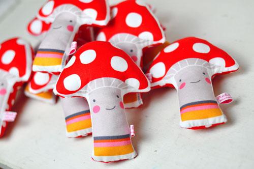 rattle mushroom by PinkNounou -2