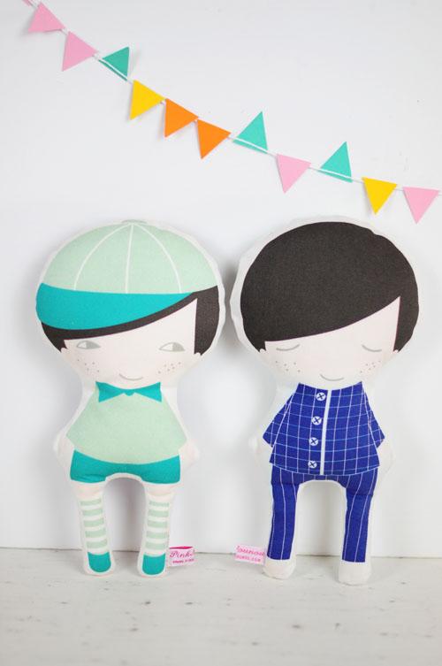 new day and night boy doll by PinkNounou 1
