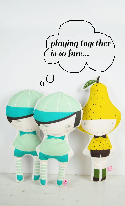 veggie Pumpkin dolls by PinkNounou -5