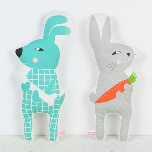dog and bunny flip doll by PinkNounou -1
