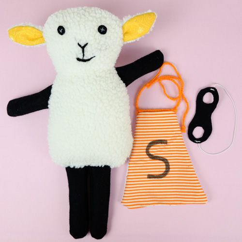 sew a softie project diy 1E